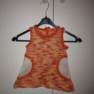 Orange cheer dress 2014