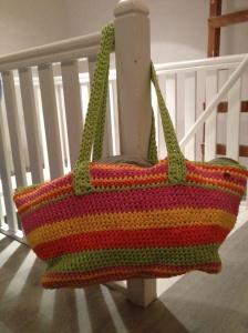 Mega beach bag
