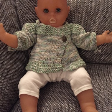 Baby Vest with Polo-neck